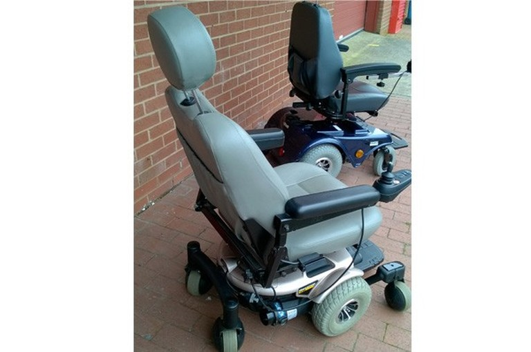 Second Hand Pride Quantum 610 Electric Wheelchair