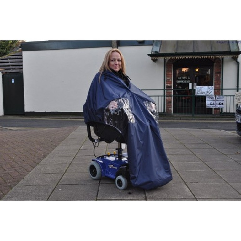 Lined Powerchair Cape