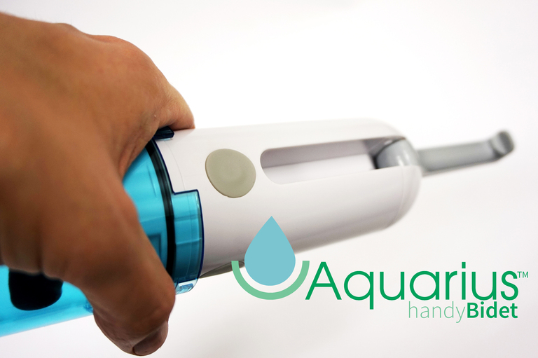 Aquarius Battery Operated Travel Handy Bidet Sprayer – Shattaf