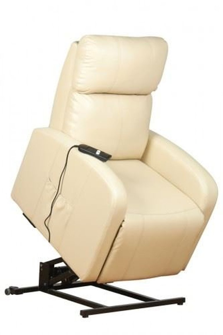 Cream Rise & Recline Lift Armchair