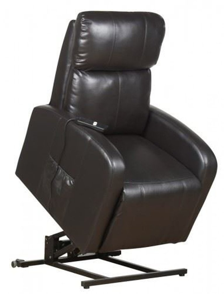 Brown Rise & Recline Lift Armchair
