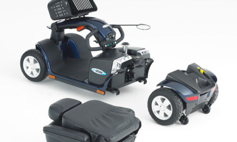 SuperGlide CX Mobility Scooter BRAND NEW. Blue. Only £795
