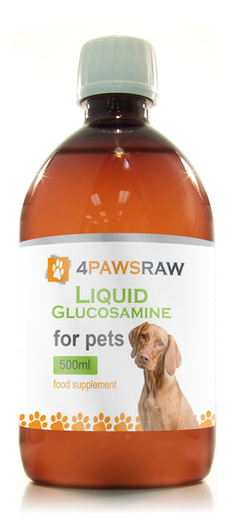 Liquid Glucosamine for Dogs and Cats with Arthritis Joint Pain. LARGE Bottle 500ml