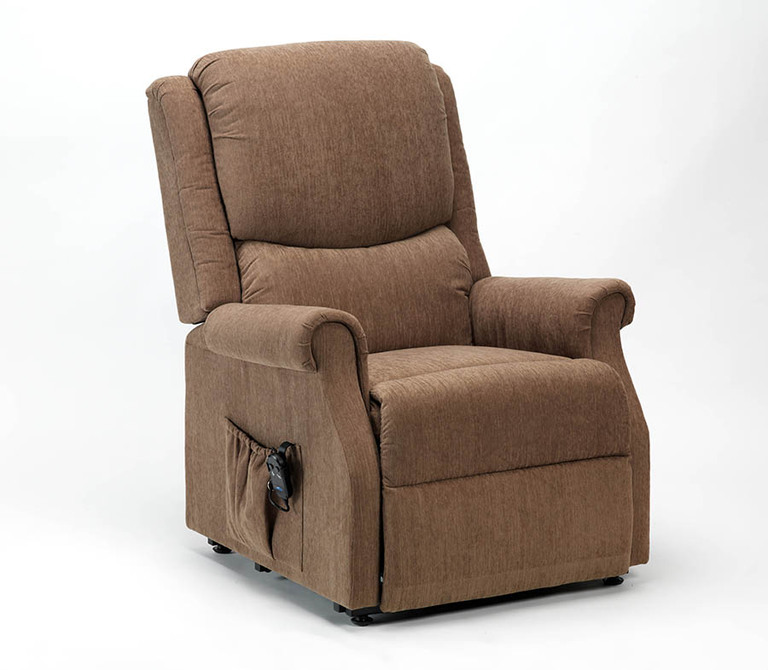 Cavendish Indiana Rise Recliner Chair Mushroom Colour