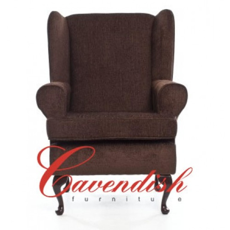 Brown Orthopedic Chair For The Elderly