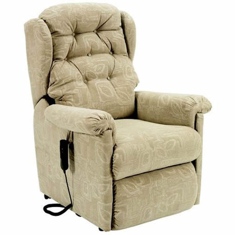 INTALIFT SEATTLE RISE AND RECLINE CHAIR BEIGE