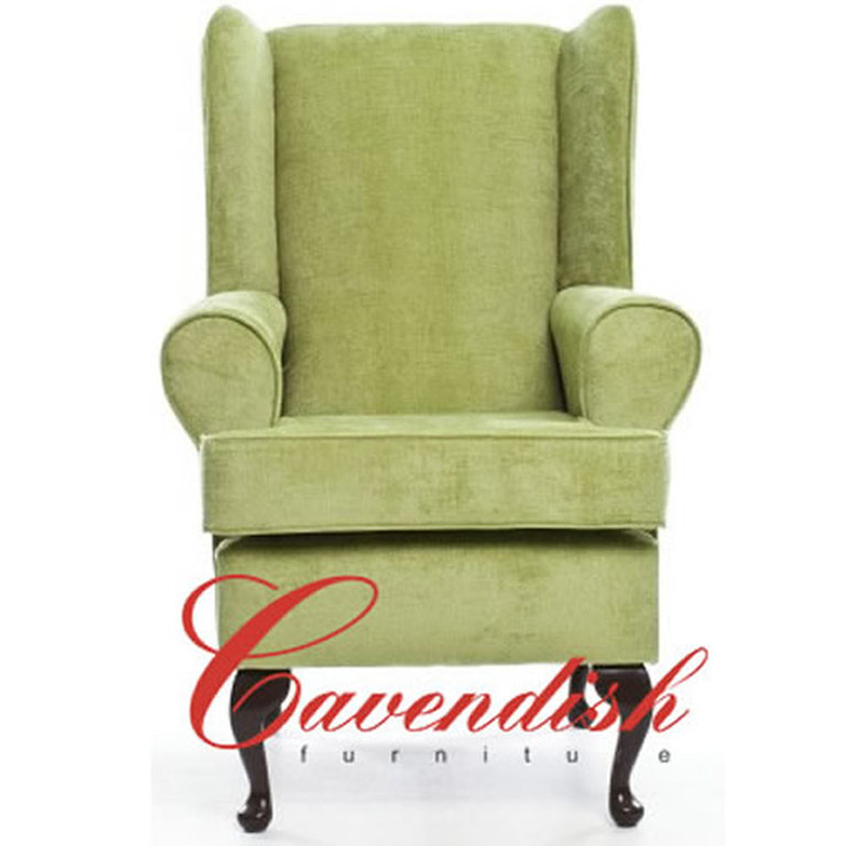 Green Orthopedic High Back Chair
