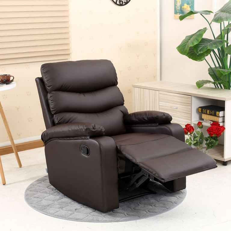 Ashby Brown Recliner Armchair