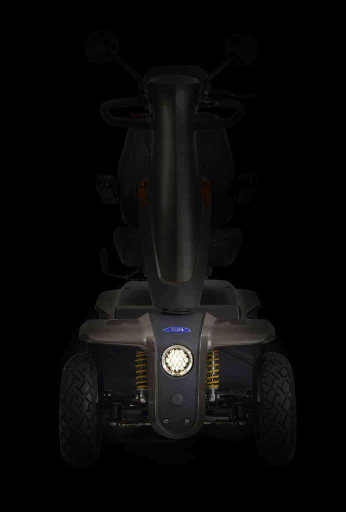 TGA To Launch Sleek And Agile 8 mph IBex Mobility Scooter At Naidex 2017