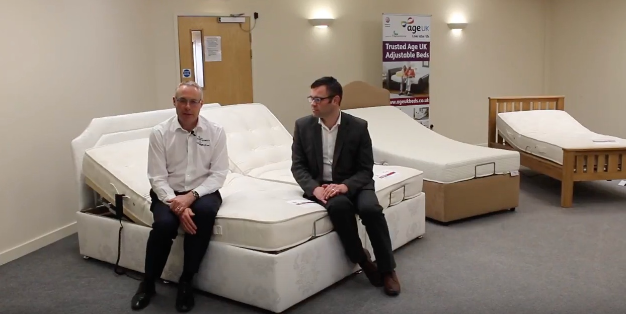 Why did Age UK Trading CIC chose Theraposture to supply Age UK Adjustable Beds?