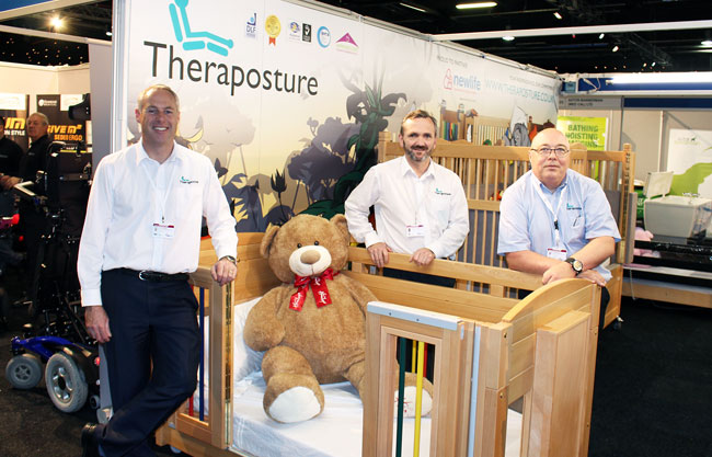 Discover the only truly future-proofed care cot at Kidz South 2018
