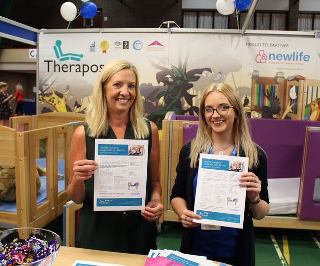 Theraposture and Newlife to highlight free emergency bed loan services for disabled children at Kidz North