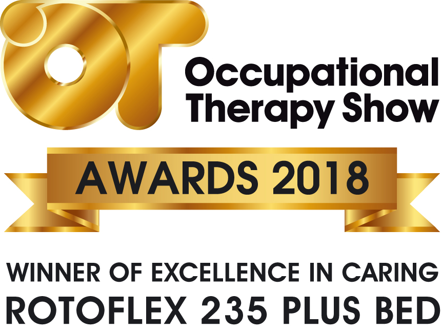 Rotoflex 235 Plus Rotating Bed Wins Excellence In Care Award at The OT Show 2018