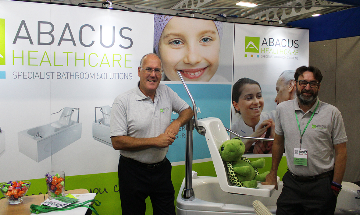 Abacus to offer assistive bathing educational showcase at  Rise 4 Disability Maidstone