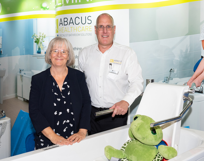 Abacus showcases as 'go to' assisted bathing specialist at Kidz to Adultz North