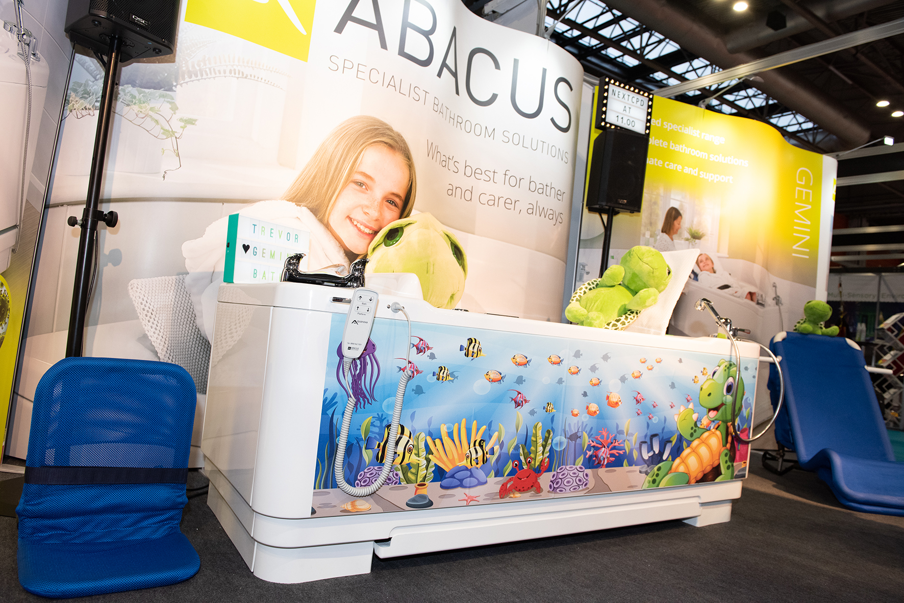 Abacus to present new Gemini 2000 bath, antimicrobial technology and CPD seminar at Kidz Middle