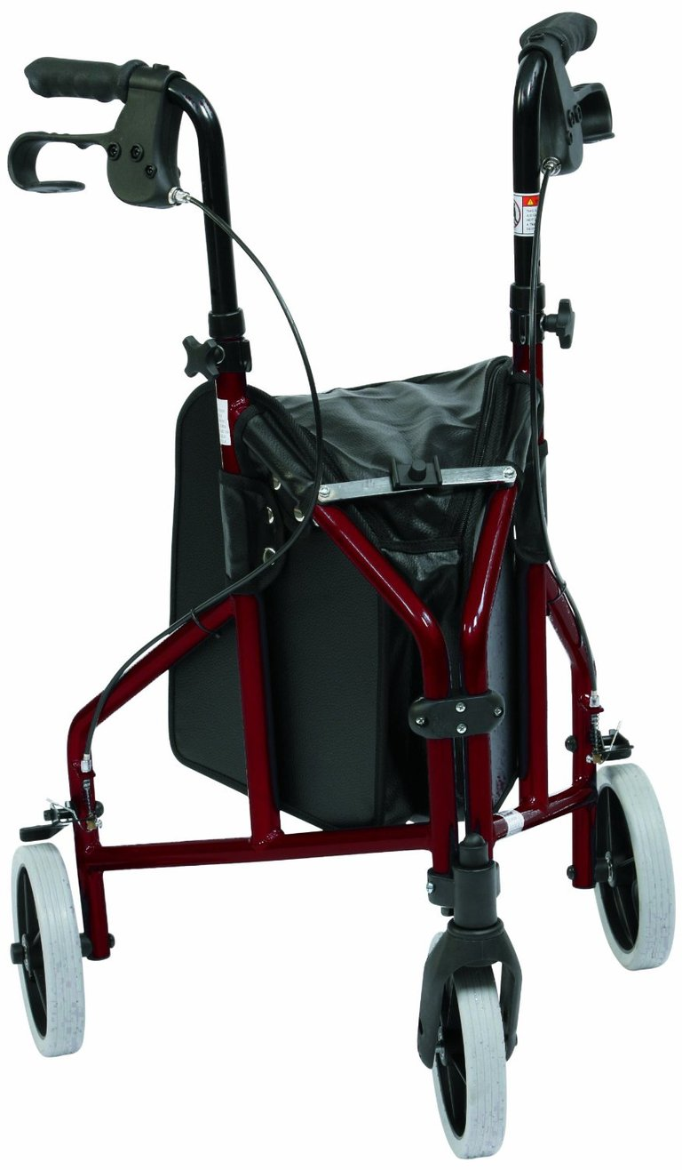 Red Tri-Walker with Vinyl Bag