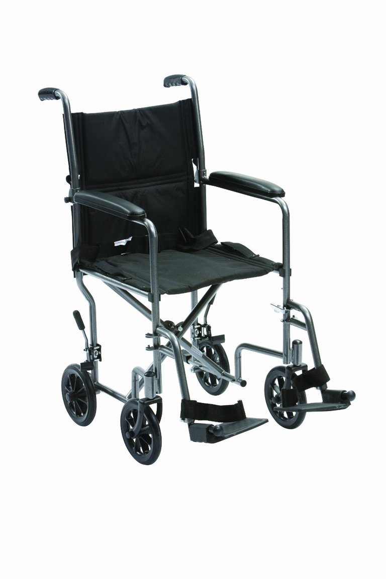 Drive Medical 19-inch Steel Travel Chair