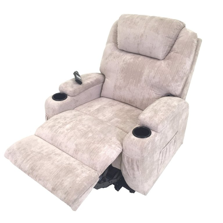 Burlington dual motor electric Rise and Recliner mobility riser chair - choice of colours