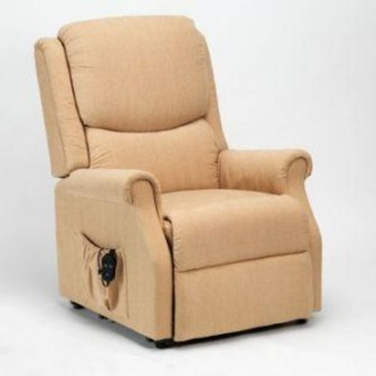 Rise & Recline Chair Biscuit Fabric